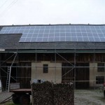 Photovoltaik-Anlage bei Bautzen