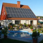 Photovoltaik-Anlage bei Oppach