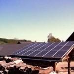 Photovoltaik-Anlage bei Sohland