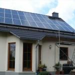 Solarstromanlage in Oppach